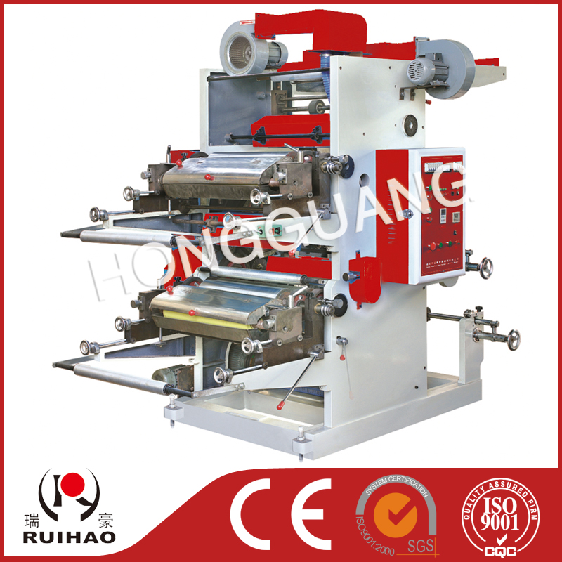 Series double color flexible printing machine