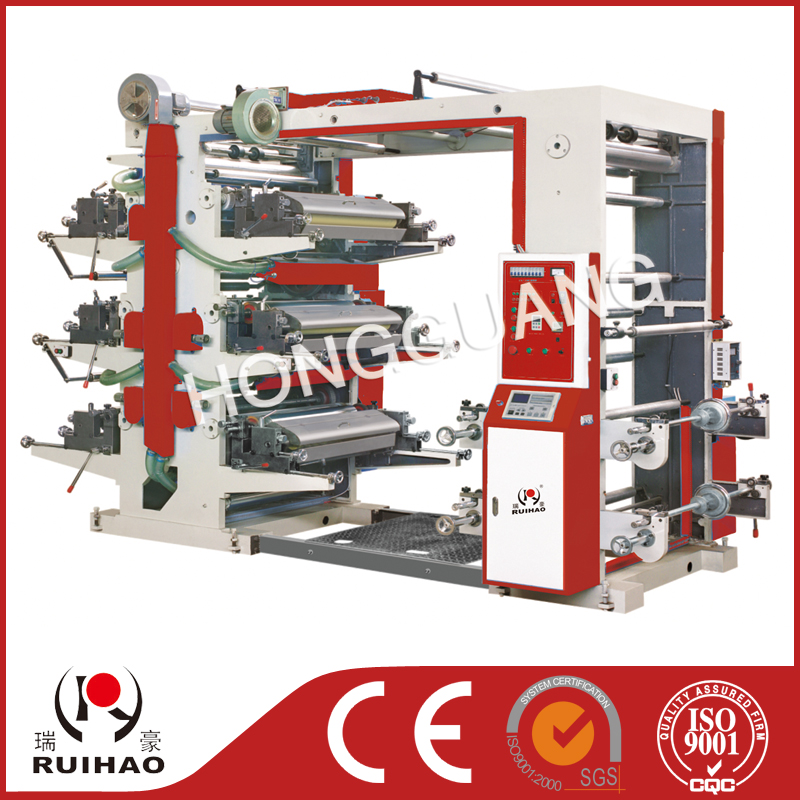 Series six-color flexible printing machine