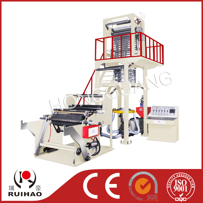 SD-B high quality film blowing machine with full automatic winding